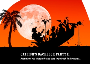 Catfish Bachelor Party invite II