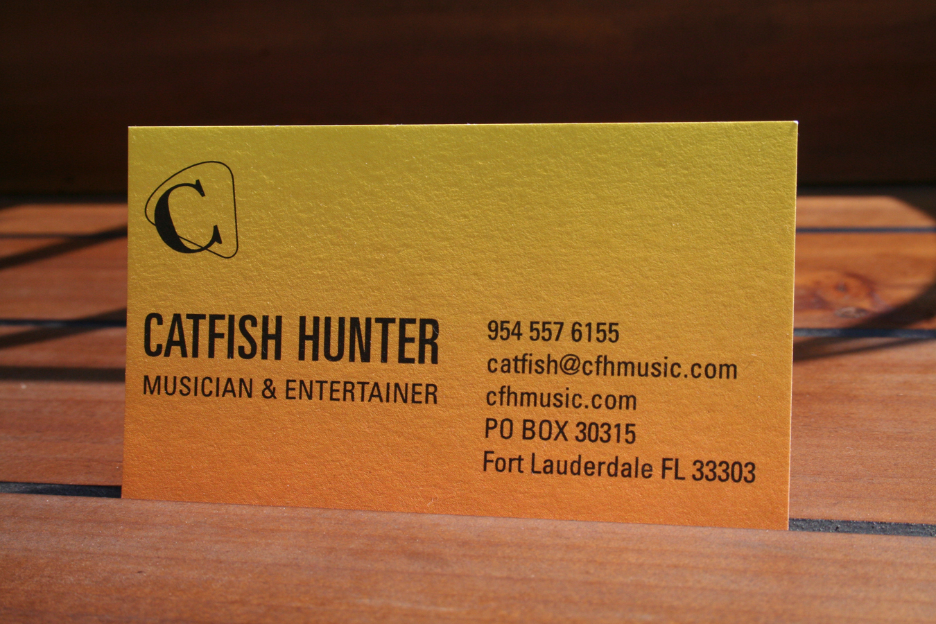 Business cards shift catfish hunter new business card front magicingreecefo Images