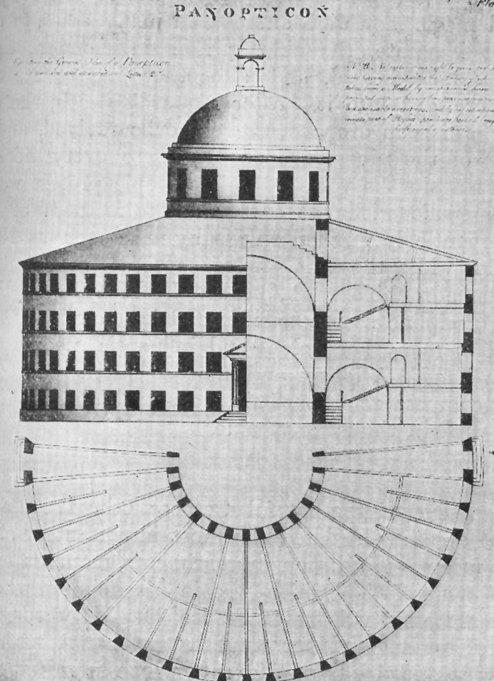 Corruption and the purpose of the panopticon according to foucault