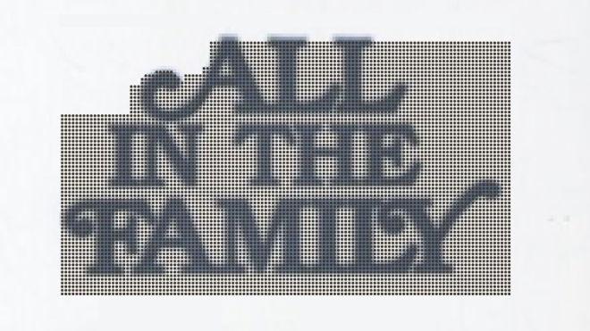 All In The Family logo